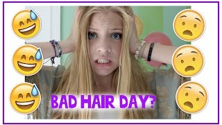 Bad Hair Day!? My Tips, Tricks, and Products! Thumbnail