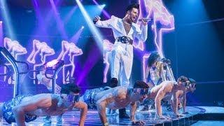 Rylan Clark sings a Duran Duran/Bros Medley - Live Week 7 - The X Factor UK 2012