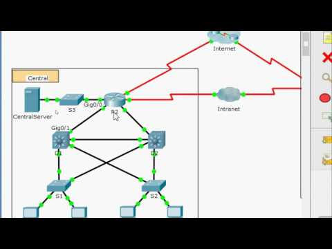 1.1.2.9 Packet Tracer - Documenting The Network