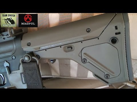 Magpul's Best Collapsible Stock: The UBR
