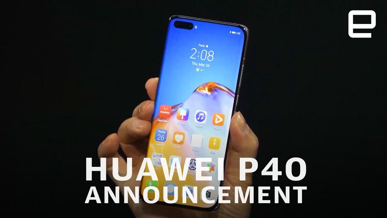 Huawei P40 announcement in 12 minutes