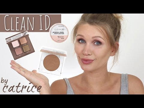 NEU ! DROGERIE CLEAN MAKEUP 🌱  | Catrice Clean ID Reihe | Test & Review thumbnail