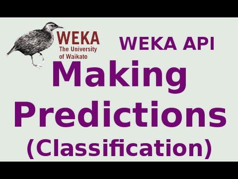 WEKA API 14/19: Making Predictions (Classification)