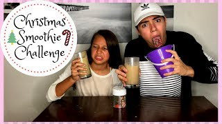 CHRISTMAS SMOOTHIE CHALLENGE  (DAY 4)