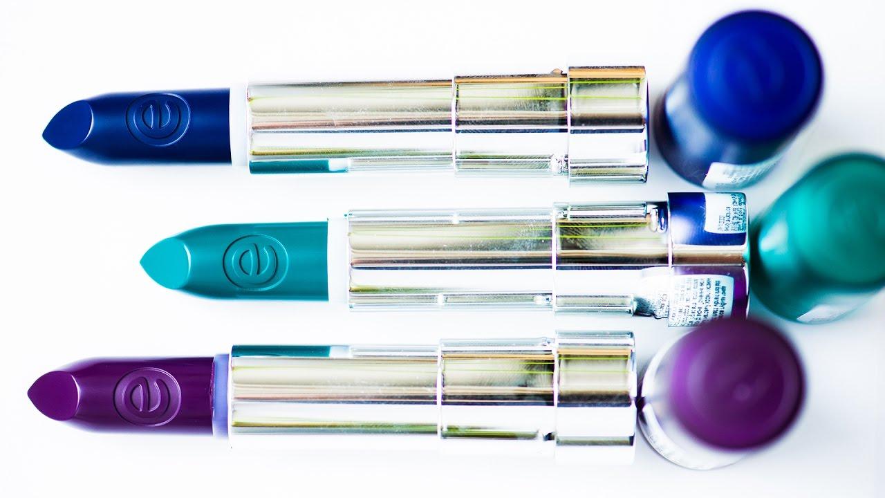 Карандаши Cascade of Colours обзор карандашей для губ - YouTube
