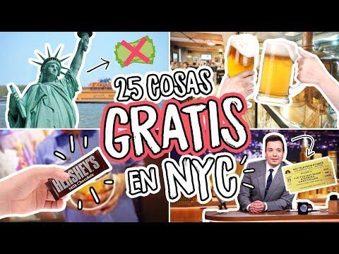 25 Cosas GRATIS en NUEVA YORK (2018)  Dolce Placard
