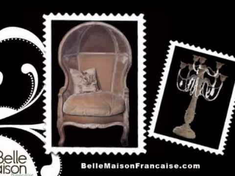 French Style Furniture with Flair  - BelleMaisonFrancaise.com
