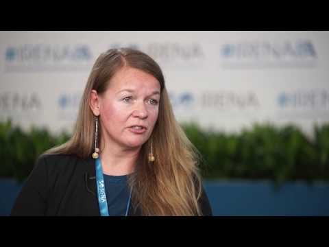 Barbara Buchner of the Climate Policy Initiative speaks to IRENA's ...