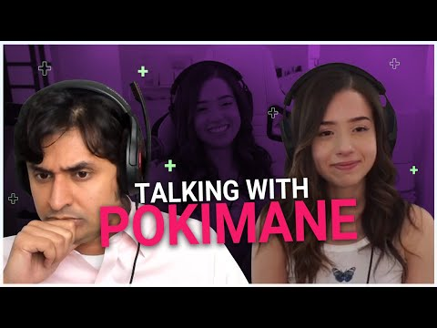 Talking With Pokimane | Dr. K Interviews