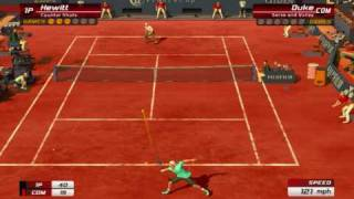 Virtua Tennis 3 - Hewitt 6-0 Duke