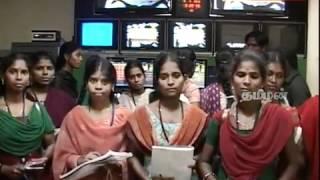 Dept of English,Annamalai University, visit to Tamilan TV station.mp4