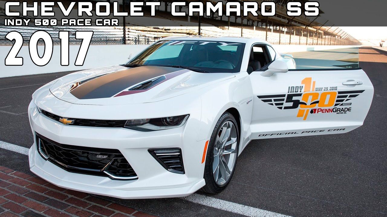 2016 chevrolet camaro ss indy 500 pace car review rendered price specs release date youtube. Black Bedroom Furniture Sets. Home Design Ideas