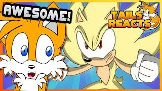 Tails Reacts to Super Mario vs Sonic the Hedgehog Animation - MULTIVERSE WARS