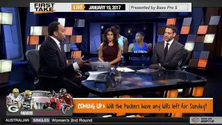 First Take - Stephen A  Smith on Russell Westbrook vs  Zaza Pachulia!