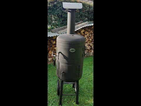 Pour se r chauffer fumer griller cuire et pizzaioler en f te youtube - Fabriquer un barbecue avec un chauffe eau ...