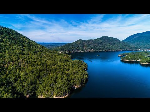 4K Drone Aerial Footage Allatoona Lake Georgia Red Top Mountain State Park CoolHandBart Flying