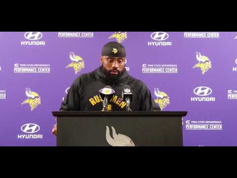 Everson Griffen misses his 'dog' Brian Robison