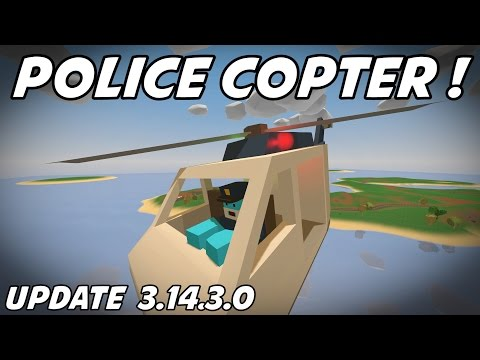 UNTURNED - Police Helicopter! Hummingbird! (New Update 3.14.3.0)
