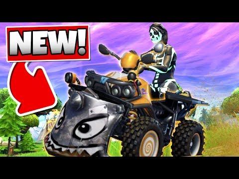 FORTNITE QUAD CRASHER ATV (NEW CAR in Fortnite: Battle Royale) thumbnail