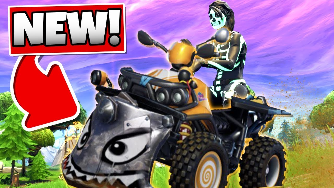 Fortnite Quad Crasher Atv New Car In Fortnite Battle Royale Youtube
