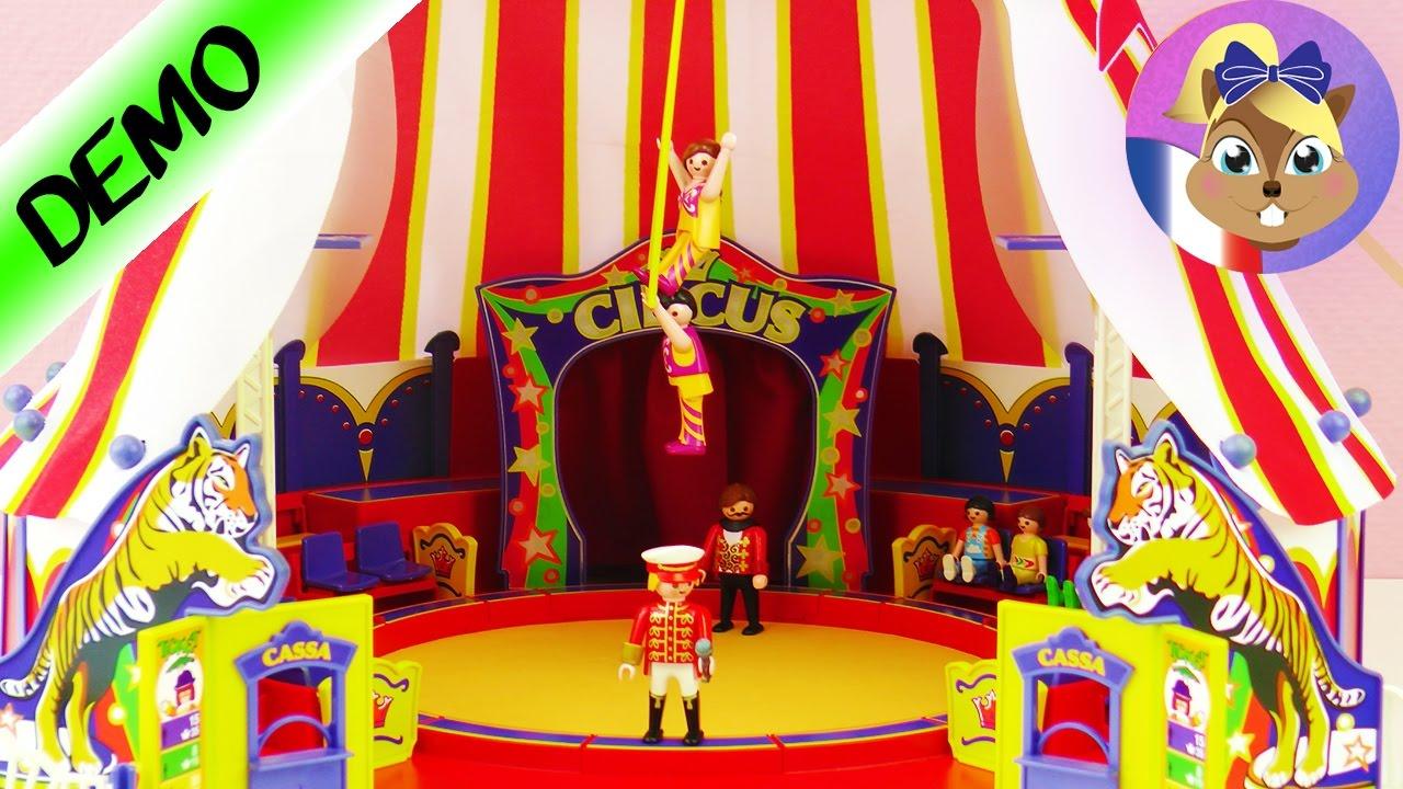 Construction cirque playmobil le cirque est en ville - Cirque playmobil ...