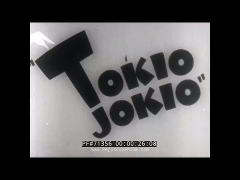 BANNED ANTI-JAPANESE CARTOON FROM WWII  TOKIO JOKIO 71362
