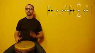 02. Off-beat patterns in in 4/4 rhythms (1/2)