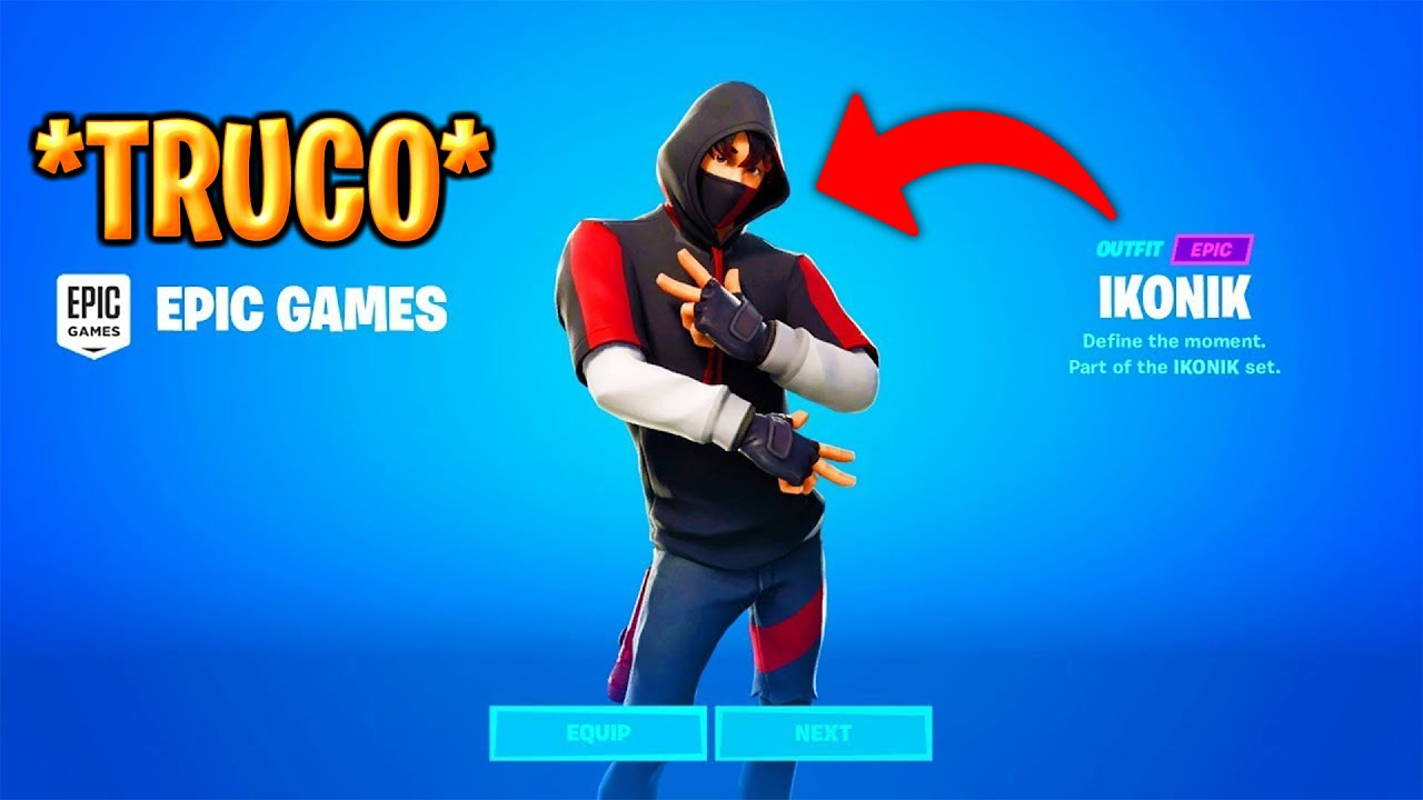 Nuevo Truco Como Conseguir Skin Ikonik Gratis En Fortnite Capitulo 2 Para Ps4 Xbox Switch Pc Youtube