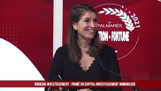 Palmarès des Fournisseurs 2021 - Novaxia