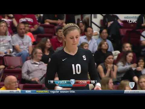 UCLA at Stanford - NCAA Women's Volleyball (Oct 24th 2014)
