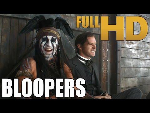 The Lone Ranger - Bloopers / Gag Reel | (HD)
