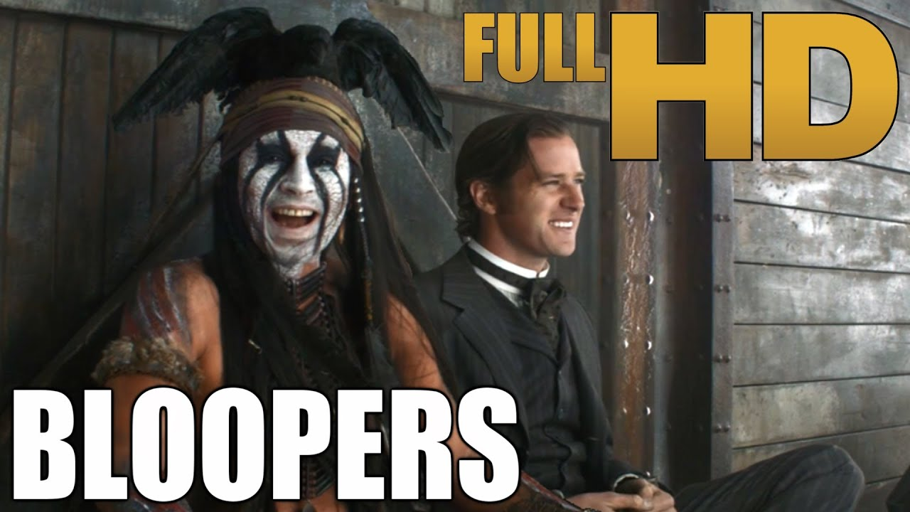 Download The Lone Ranger - Bloopers / Gag Reel | (HD)