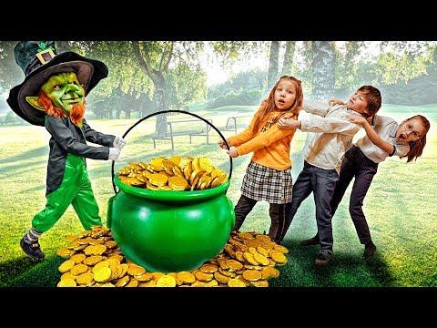 ЛЕПРЕКОН ВМЕСТО КУПИДОНА в ДЕНЬ ВСЕХ ВЛЮБЛЕННЫХ! Почему НЕЛЬЗЯ БРАТЬ его монеты?!