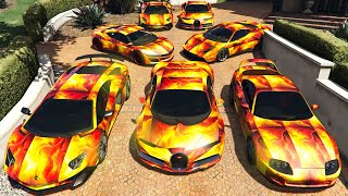 GTA 5 ✪ Stealing ELEMENTAL SUPERCARS with Michael ✪ (Real Life Cars #95)