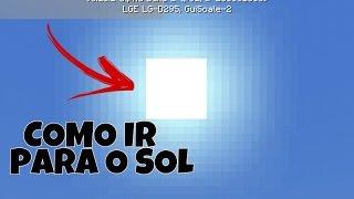 MINECRAFT PE 1.0 - 0.17.0 COMO IR PARA O SOL SEM MODS (MINECRAFT POCKET EDITION)