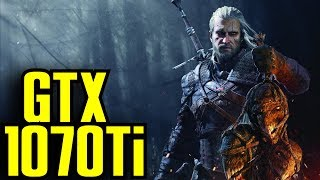 The Witcher 3 GTX 1070 Ti OC | 1080p & 1440p Maxed Out | FRAME-RATE TEST