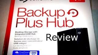Seagate Backup Plus Hub Review - 4TB