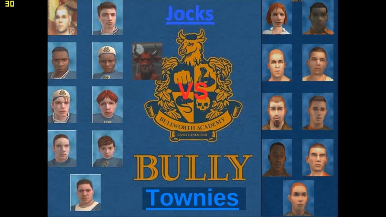 bully se  jocks vs townies    dropouts  band wars   full hd