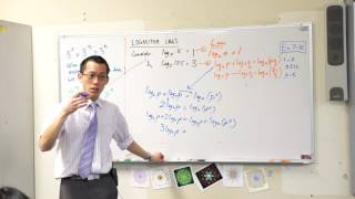 Logarithm Laws (3 of 3: Powers & coefficients)