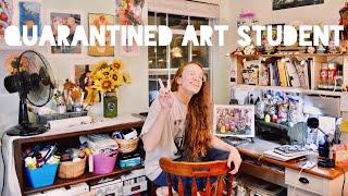 Art College Vlog 50 | ART SCHOOL FROM HOME???