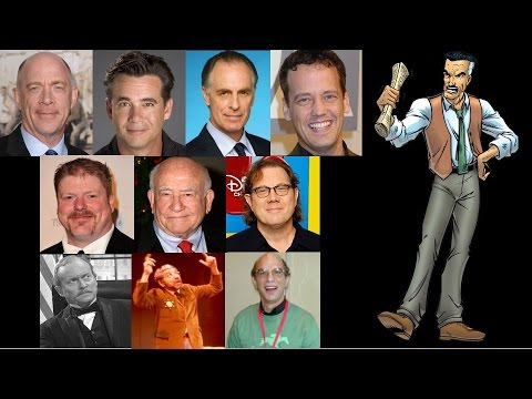 Comparing The Voices  J. Jonah Jameson