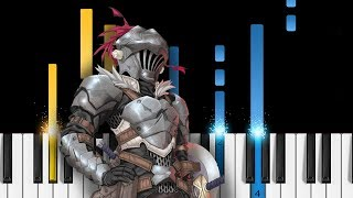 Goblin Slayer OP - Rightfully - EASY Piano Tutorial