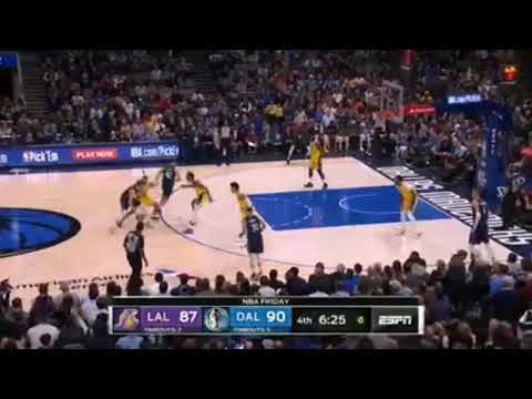 La Lakers Vs Dallas Mavericks Full Game Highlights November 2 2019