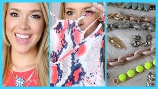 Fashion Haul + Accessories! | MissJenFABULOUS
