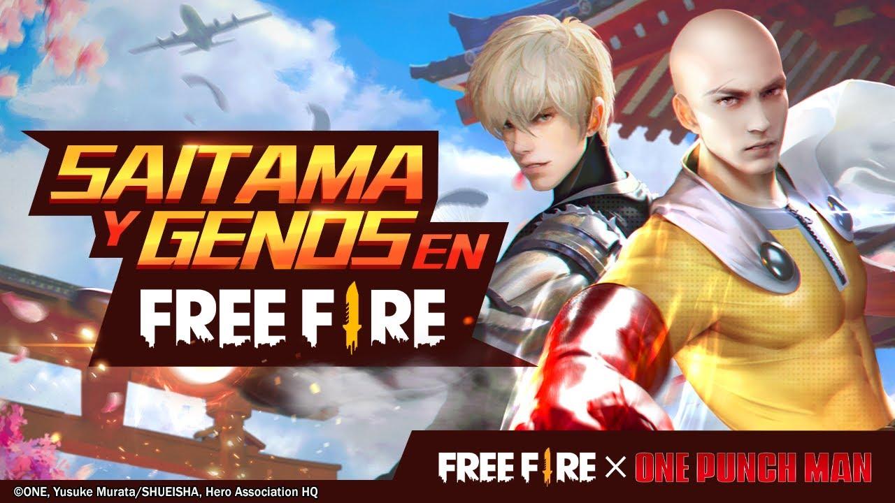 ¡Nuevos aspectos! Saitama y Genos 💥 | Garena Free Fire