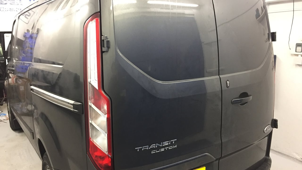 Ford Transit Custom Security Upgrade Of The Ford Alarm