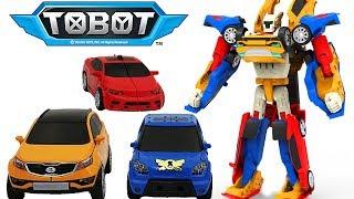 ТОБОТ Тритан Видео с игрушками из мультфильма Тоботы для детей Робот - Трансформер