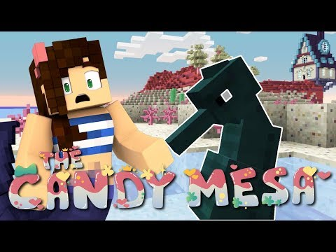 The Strange Seahorse   Minecraft Mermaid Monday   The Candy Mesa