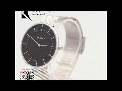 Skagen SKW2561 - Gitte Dark Grey Dial Ladies Watch | SkagenWear