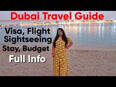 Dubai Travel Guide| Hotel, Visa,Flight,Sightseeing &Budget|Dubai Trip Under 40000/-Dubai TripInfo